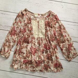 Denim & Supply Ralph Lauren Boho Peasant Blouse
